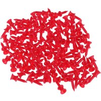 100pcs 32mm Portable Plastic Golf Nail Golf Tees Pin Golfer Gifts Gadget